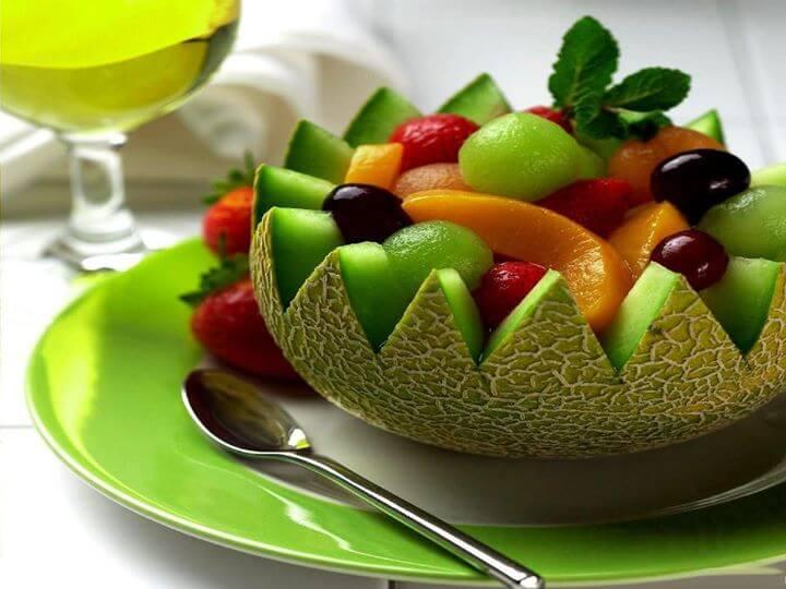 უზმოზე ხილი კანს ასუფთავებს