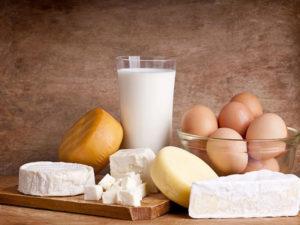 ყველი, რძე, კვერცხი