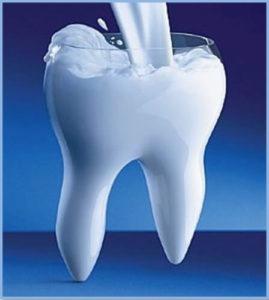 რძე კბილებს იცავს