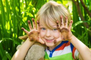 ჭუჭყიანი ხელები და პარაზიტული დაავადებები
