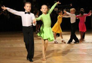 მოცეკვავე ბავშვები
