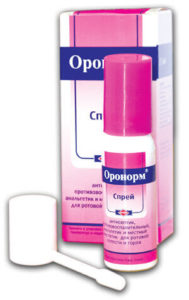 ორონორმი სპრეი/Oronorm spray