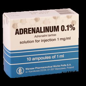 ადრენალინი 0.1% /ADRENALINUM 0.1%