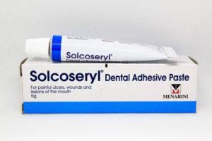 სოლკოსერილი პასტა / Solcoseryl Paste