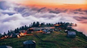 გომისმთა - ღრუბლებისა და ნისლების სამეფო